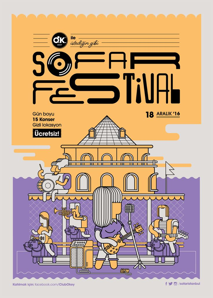 Sofar Sounds İstanbul (@sofaristanbul) has requested me to create their new festival's visual communication graphics. My mission is, as i accepted it, making decisions about art direction and create the design elements of the festival, such as logo poster…