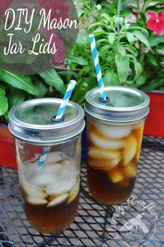 how to make decorative mason jar lids