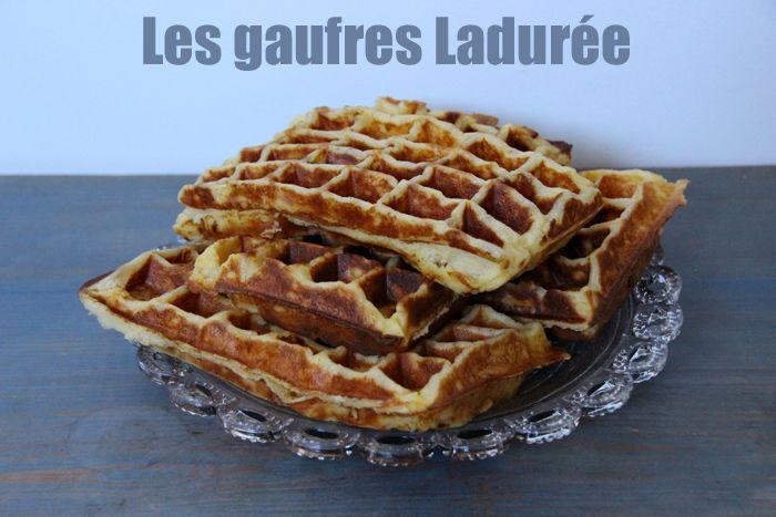 Humm des gaufres ! (recette Ladurée + avis gaufrier Krups)