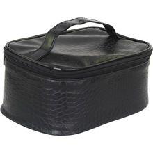 Anaconda Snakeskin Textured PVC Cosmetic Bag