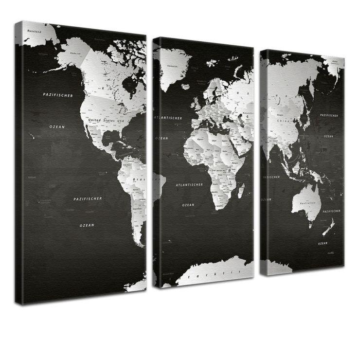 die besten 25 weltkarte schwarz wei ideen auf pinterest weltkarte poster poster schwarz. Black Bedroom Furniture Sets. Home Design Ideas
