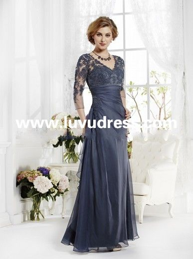 Wedding dress for godmother