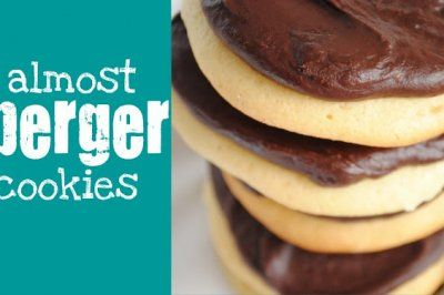 cookies.......... Almost Berger Cookies - Something Swanky: {DIY} Specialty Cupcakes and Desserts