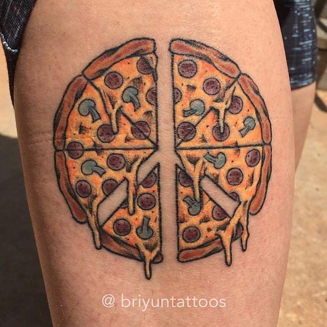 Best 25+ Pizza Tattoo Ideas On Pinterest