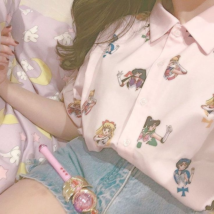 Pretty Pink Guardian Sailor Senshi Blouse Shirt SP1710031