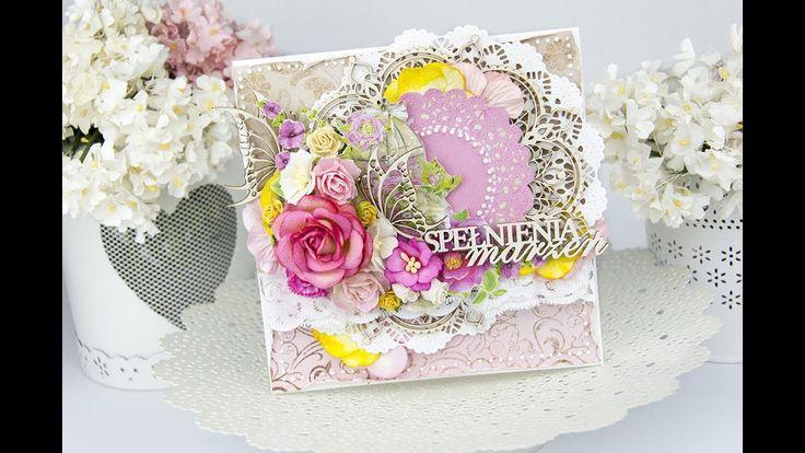 Birthday card TUTORIAL/ Kartka urodzinowa