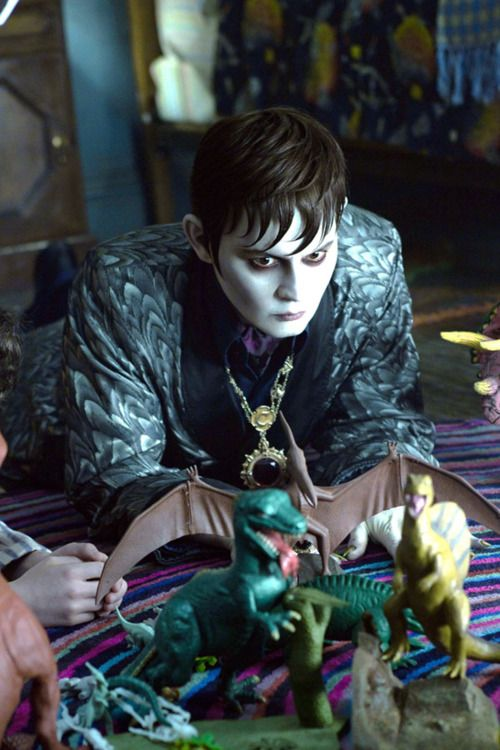 Johnny Depp in Tim Burton's Dark Shadows