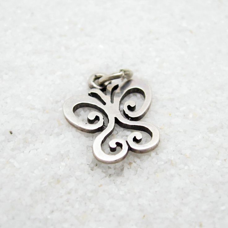 Sterling Butterfly Small James Avery Charm