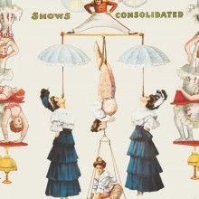 Tapet designer Circus The Great Show, MINDTHEGAP