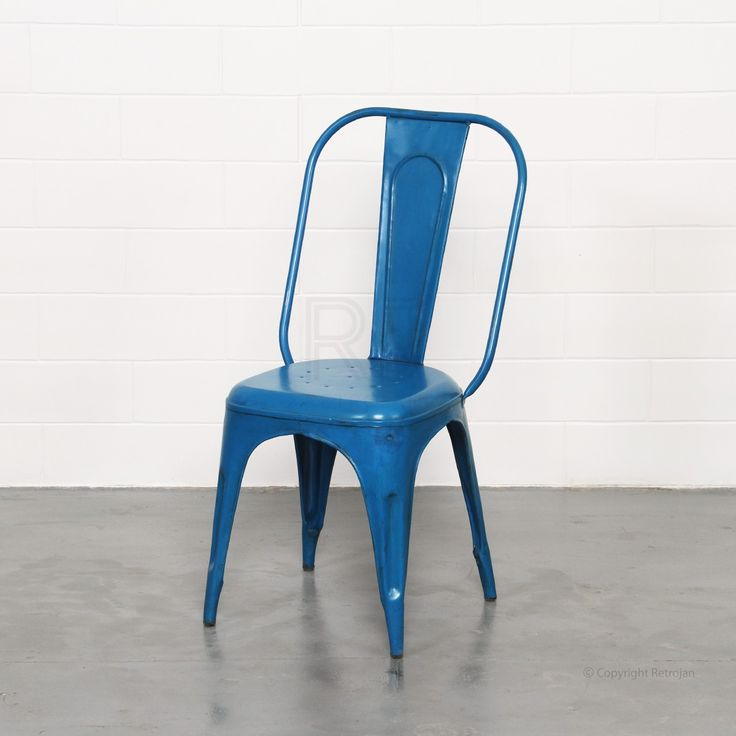Frankie Cafe Dining Chairs - DARK BLUE  | RP: $99.00, SP: $59.00