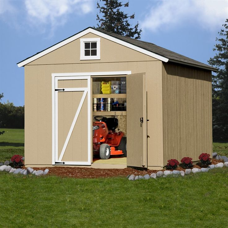 Shop Heartland Home and Garden Heartland Statesman 10-ft x 12-ft Engineered Wood Storage Shed at Lowe's Canada. Find our selection of storage sheds at the lowest price guaranteed with price match + 10% off.