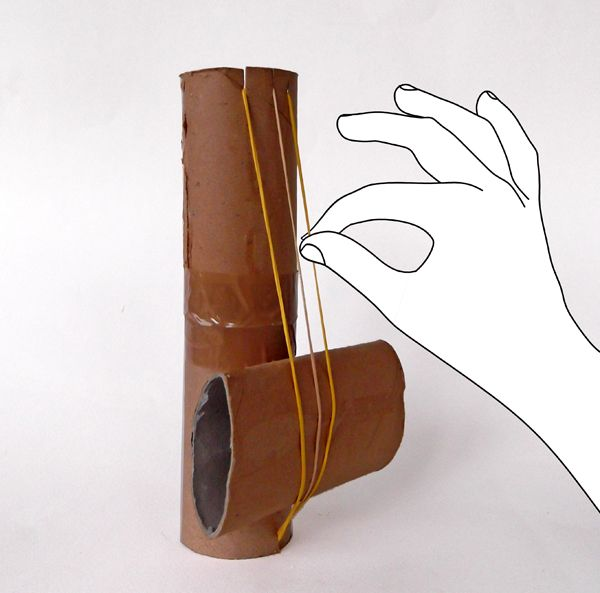 Toilet paper roll string instrument for How to use toilet paper rolls