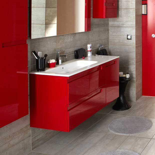 Mod le infiny lapeyre salle de bain du bas pinterest for Meuble sdb lapeyre