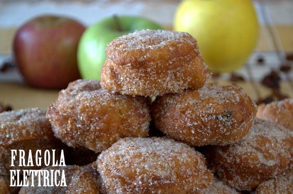 FRITTELLE DI MELE  fragolaelettrica.com Le ricette di Ennio Zaccariello #Ricetta #Carnevale