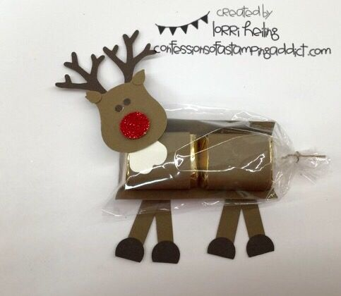 Confessions of a Stamping Addict Lorri Heiling Stampin' Up Reindeer