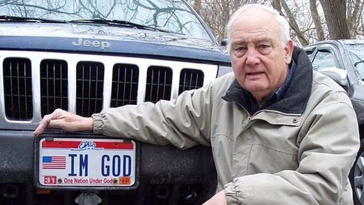 US atheist sues after Kentucky refuses 'IM GOD' licence plate #atheist #after #kentucky #refuses #licence #plate