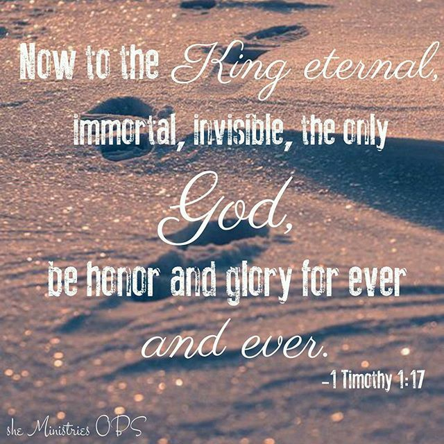""" Now to the King eternal, immortal, invisible, the only God, be honor and glory for ever and ever. amen."" ( 1 Timothy 1:17) . . #sheabq #sheministriesobs #onlinebiblestudy #Christmas #joytotheworld #advent #hope #glorytogod #sheministries"