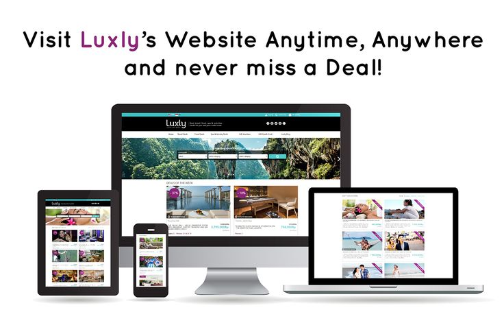 We are excited to announce the official launch of our new Luxly website with an innovative deals concept. Grab fantastic deals online on Hotel, Restaurant, Spa and Activity packages at the best price guaranteed!  And ONLY until Nov. 30th 2016 get an extra 10% DISCOUNT.