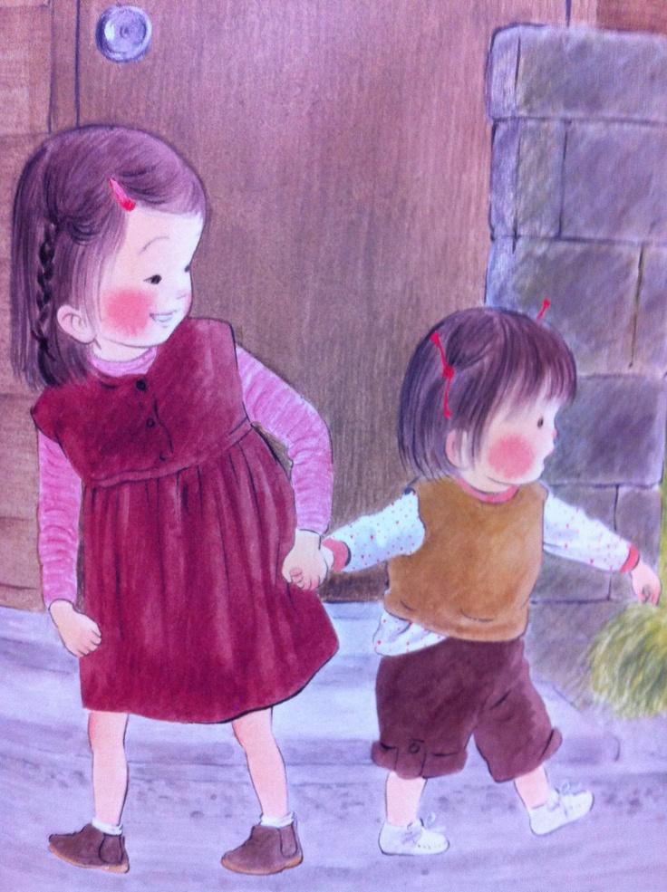 Asae and pretty sister あさえと ちいさい いもうと