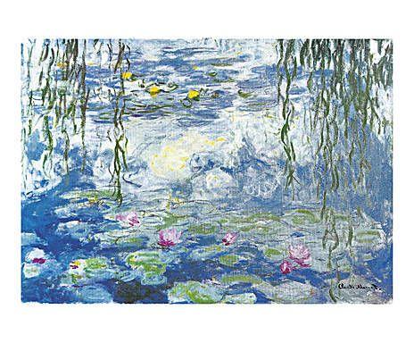 OPERA PRIMA: Lienzo impreso sobre tela Nenúfares de Monet - grande