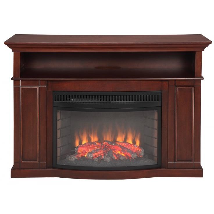 Muskoka Sheppard Electric Fireplace In Cherry