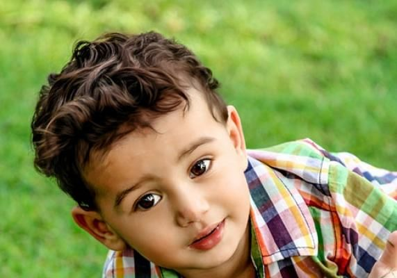 Whimsy and Classic Curly Boys Haircut #atozhairstyles