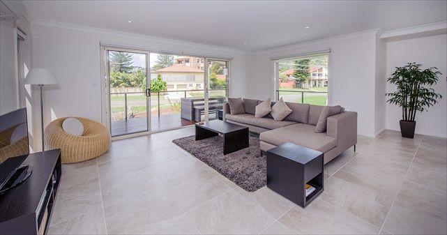 Living Room - Luxury Ocean Townhouse