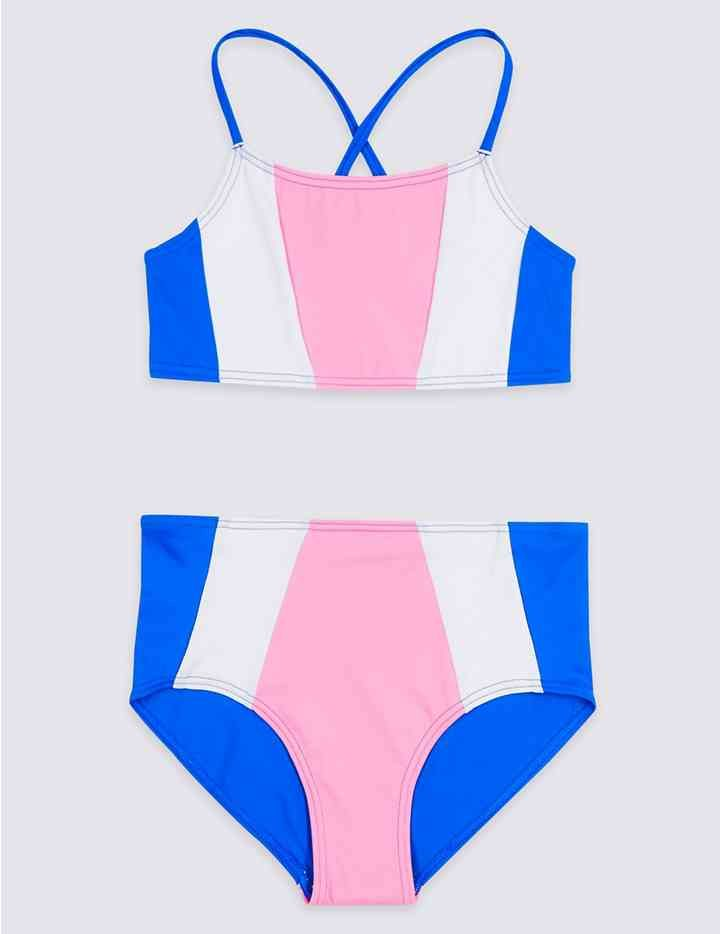 4ca3b39d4abd7 Bikini Set with Sun Safe UPF50+ (5-16 Years) | Cherrybody Swimwear ...