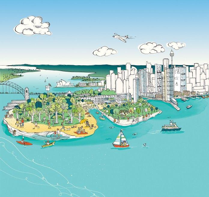 #Sydney Illustration #Australia for #kids