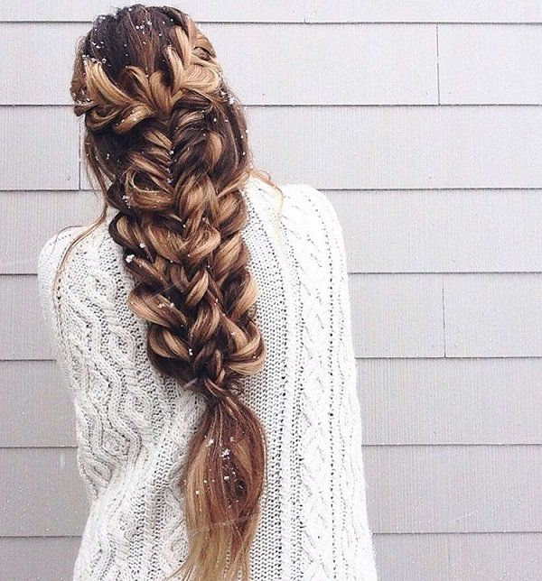 Magnificent 1000 Ideas About Cool Braids On Pinterest Cool Braid Hairstyles Hairstyles For Women Draintrainus