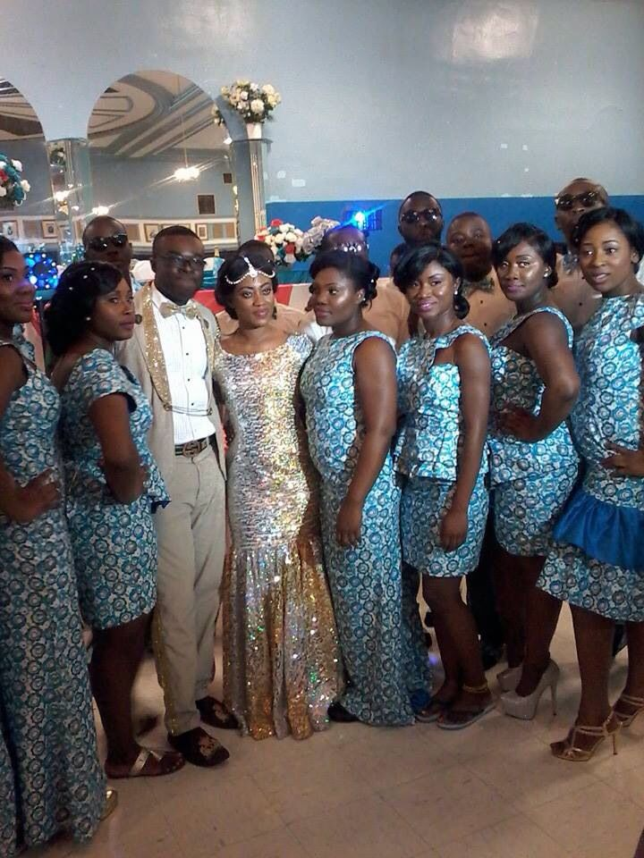 Ghanaian wedding reception traditional african marriage
