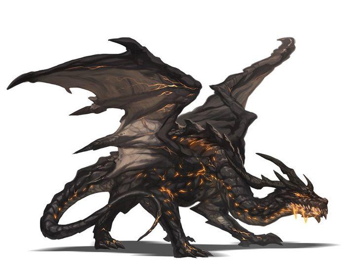 Magma Dragon by nJoo on DeviantArt