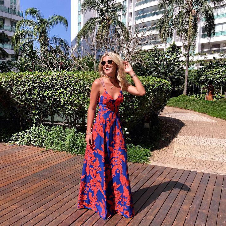 Saturday look  {apaixonada por esse dress da @lucidezbrasil da nova coleção de Verão! ❤️ Queria tanto ter usado na viagem, mas infelizmente ficou na minha mala que foi perdida e só apareceu essa semana!} #lookoftheday #ootd