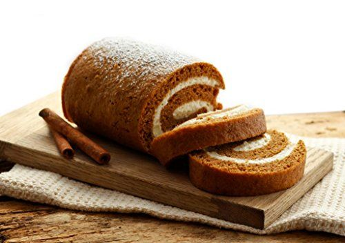 Sweet, creamy and bursting with pumpkin flavor, this Pumpkin Roll with Cream Cheese Filling recipe is the perfect taste of fall anytime of the year!