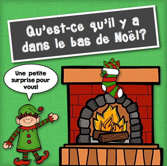 Free! Gratuit! Do you need a last-minute French Christmas activity? This conversational board game might be it. Click through for your free download. Joyeux Noël!