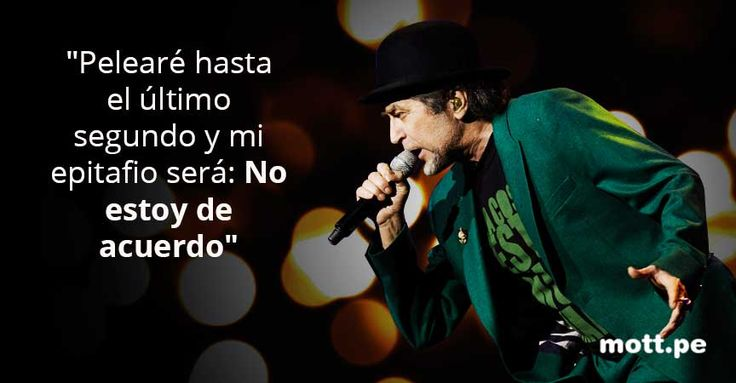 10 frases de Joaquín Sabina que llenan el alma