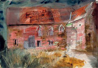 ✽ john piper - 'flanesford priory, ross-on-wye'