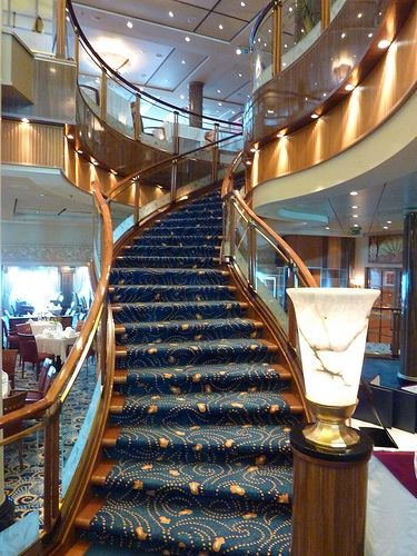 Britannia Restaurant Queen Mary 2 cruise ship QM2 by garybembridge, via Flickr
