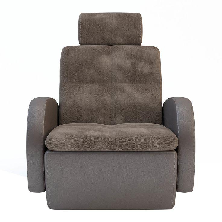 FOTEL AURA PLUS  Elegancki fotel wypoczynkowy na obrotowej podstawie. Idealnie sprawdzi się w pokoju dziennym podczas wypoczynku, czytania książki lub spędzania czasu w szerszym gronie. Fotel może być też uzupełnieniem do narożnika lub sofy.         WYKOŃCZENIE  Korpus fotela wykonany z ekoskóry łatwejszej w utrzymaniu czystości, siedzisko z przyjemnej tkaniny. Podłokietniki zostały tak wyprofilowane, aby stanowiły idealne podparcie w trakcie siedzenia.