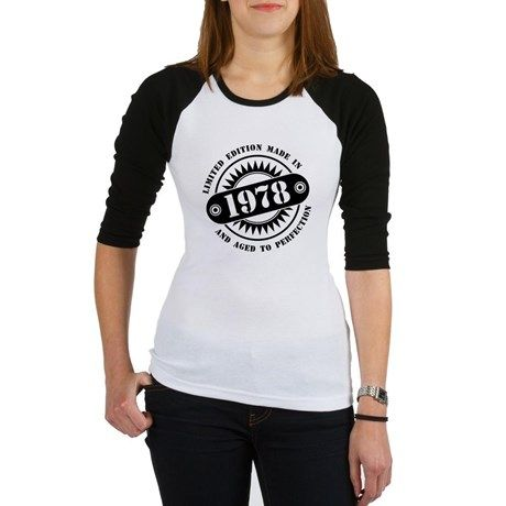 LIMITED EDITION MADE IN 1978 Baseball Jersey  #madein #limitededition #birthday #bday #year #age