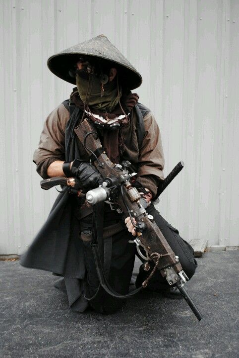 steampunk assassin-- Chinese hat! …                                                                                                                                                                                 More