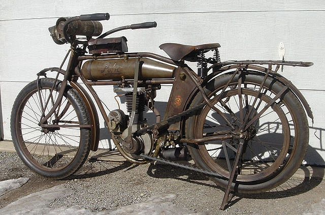 ancient Motorcycle.