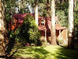 Lovely cottage with plenty of room for pets to explore in Cockatoo, Dandenong Ranges from $220 p/n sleeps 8. #petfriendly