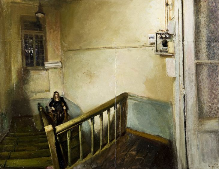 Maria on the stairs by Giorgos Rorris (Γιώργος Ρόρρης) on Curiator - http://crtr.co/d89