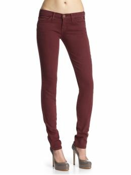 will not rest until I have me some burgundy skinnies