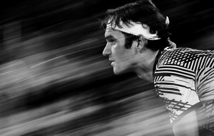 Roger Federer, 3R, Rod Laver Arena, 20 January 2017.