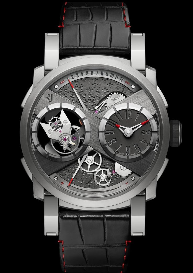 Master Horologer: RJ-Romain Jerome Moon Orbiter GMT Limited Edition