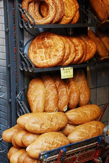 Ekmek is a light and slightly sour flatbread that tastes wonderful with Havarti cheese.
