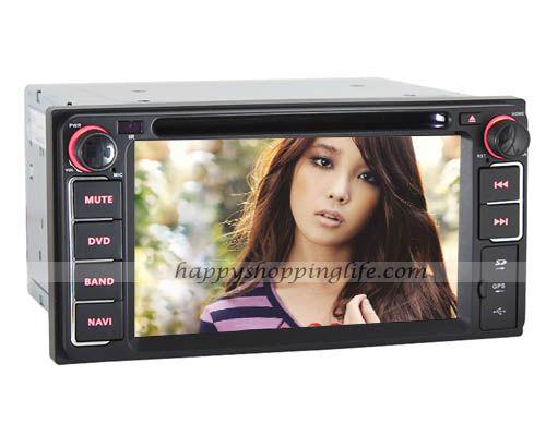 Car DVD Player GPS Navigation for Toyota Echo - Bluetooth USB SD