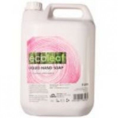 Ecoleaf Liquid Hand Soap Refill 5L made in West Yorkshire and supplied by Green Stationery Co in Somerset - £29.88